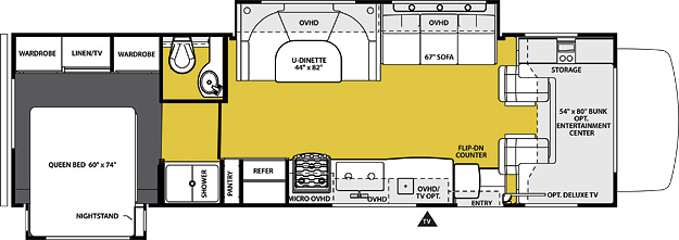 3010DS Floorplan